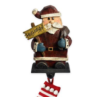 Woodland Santa Stocking Hanger