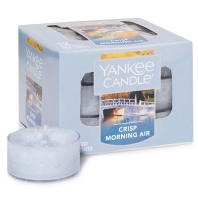 Yankee Candle® Crisp Morning Air Tealights (Set of 12)