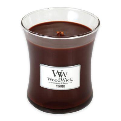 Woodwick® Timber Medium Candle