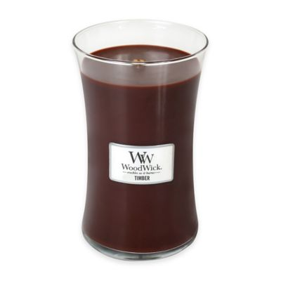Woodwick® Timber Large Candle