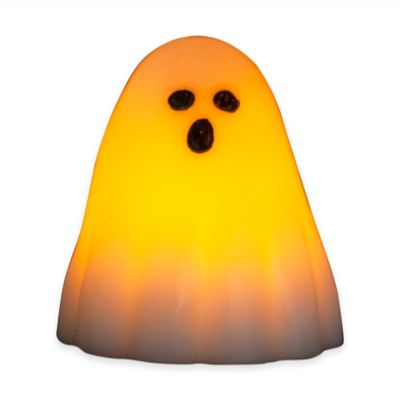 Flameless LED Halloween Ghost Candle