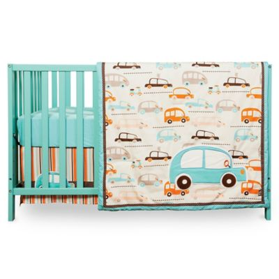Trend Lab® Vroom La La 3-Piece Crib Bedding Set
