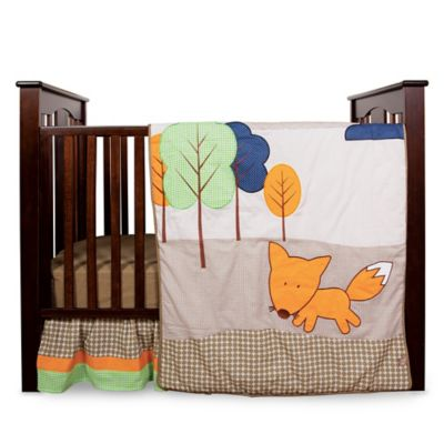 Trend Lab® Friendly Fox 3-Piece Crib Bedding Set