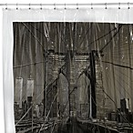 Brooklyn Bridge New York City 72-Inch x 72-Inch Vinyl Shower Curtain