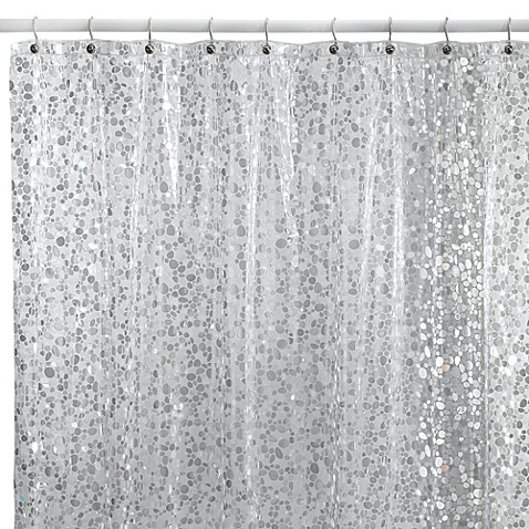 Buy Silver Shower Curtain From Bed Bath Amp Beyond