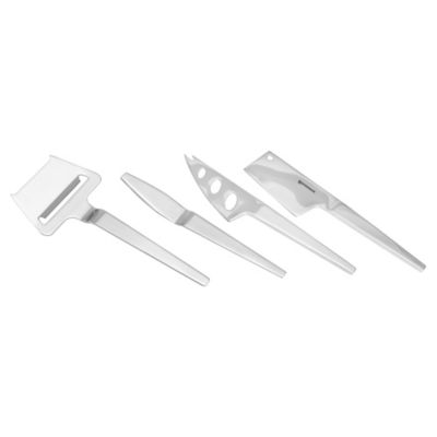 Swissmar SlimLine 4-Piece Cheese Knife Set