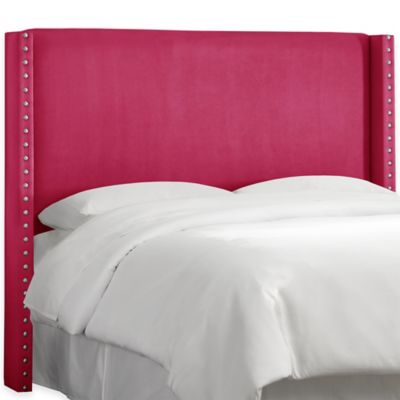Skyline Furniture Roosevelt Full Headboard in Regal Chocolate