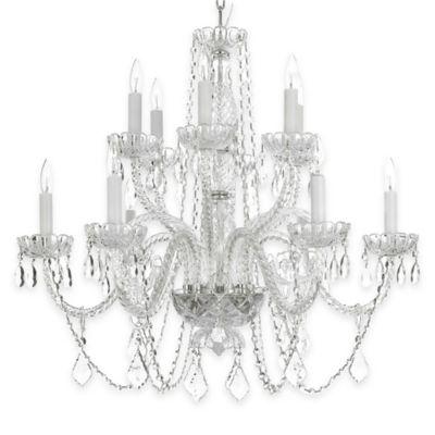 Gallery Venetian 12-Light Chandelier with Swarovski Crystals