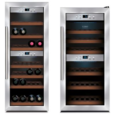 Caso® 38-Bottle Wine Master in Stainless Steel