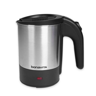 Bonavita® 0.5-Liter Dual Voltage Travel Kettle