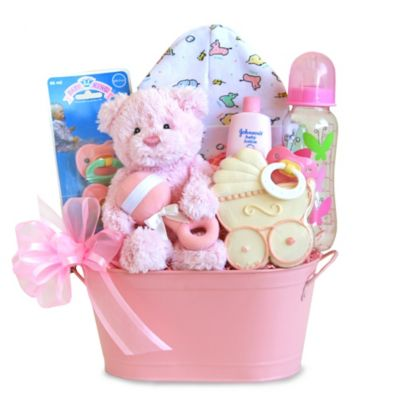 Cuddly Welcome for Baby Girl Gift Set
