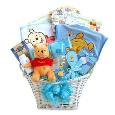 Disney® Winnie the Pooh Baby Boy Gift Basket