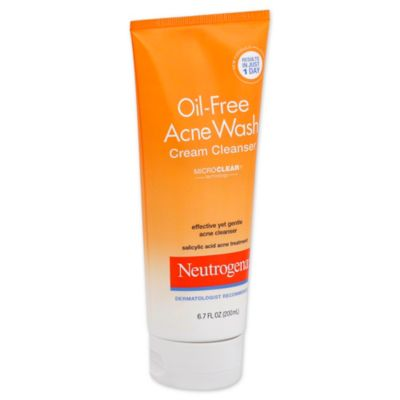 Neutrogena® 6.7 oz. Oil-Free Acne Wash Cream Cleanser
