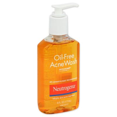 Neutrogena® 6 oz. Oil-Free Acne Wash