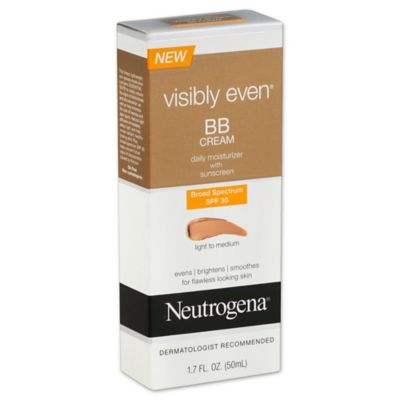 Neutrogena® Visibly Even® 1.7 oz. BB Cream Broad Spectrum SPF 30 Light to Medium