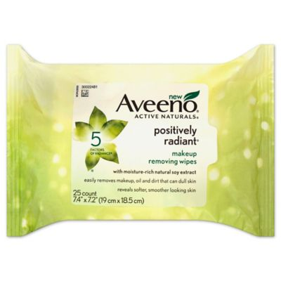 Aveeno® Positively Radiant® 25-Count Makeup Removing Wipes