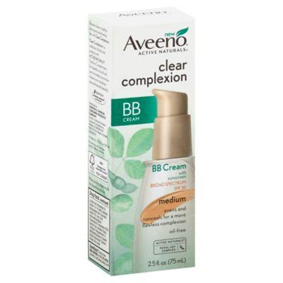 Aveeno® Clear Complexion 2.5 oz. BB Cream Broad Spectrum SPF 30 in Medium