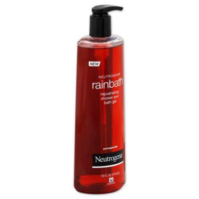 Neutrogena® Rainbath® 16 oz. Rejuvenating Shower and Bath Gel in Pomegranate