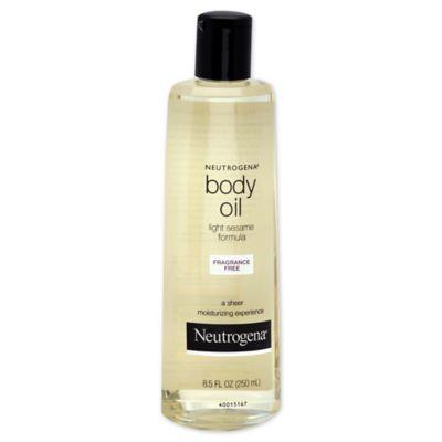 Neutrogena® 8.5 oz. Body Oil Fragrance Free