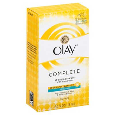 Olay® 4 oz. Complete All Day Moisture Lotion Broad Spectrum SPF 15 for Sensitive Skin