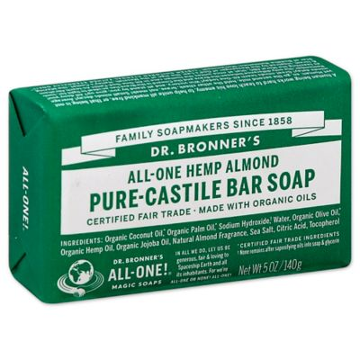 Dr. Bronner's 5 oz. Pure-Castile Bar Soap in Almond