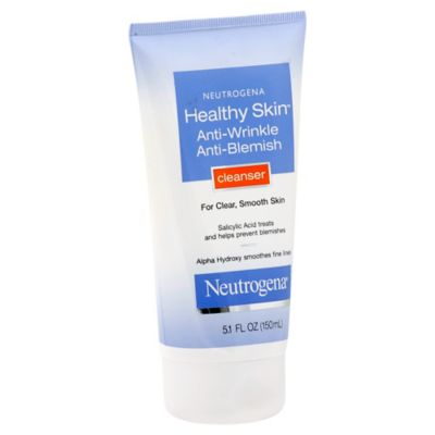 Neutrogena® Healthy Skin™ 5.1 oz. Anti-Wrinkle Anti-Blemish Cleanser