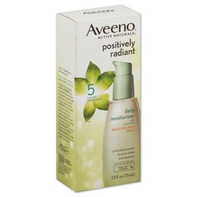 Aveeno® Positively Radiant® 2.5 oz. Daily Moisturizer Broad Spectrum SPF 30