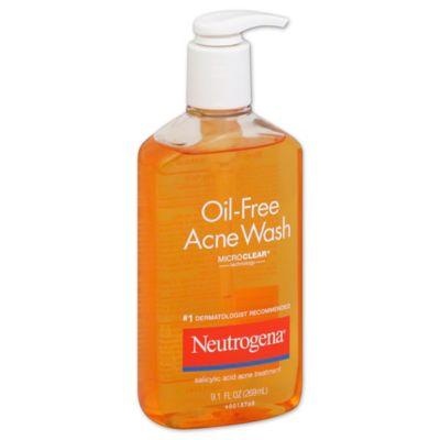 Neutrogena® 9.1 oz. Oil-Free Acne Wash