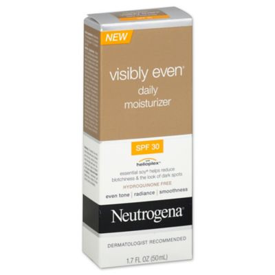 Neutrogena® Visibly Even® 1.7 oz. Daily Moisturizer Broad Spectrum SPF 30