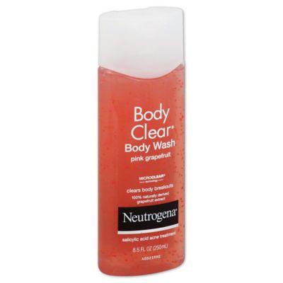 Neutrogena® Body Clear® 8.5 oz. Body Wash in Pink Grapefruit