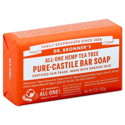Dr. Bronner's 5 oz. Pure-Castile Bar Soap in Tea Tree