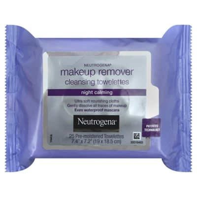 25-Count Makeup Remover Cleansing Towelettes
