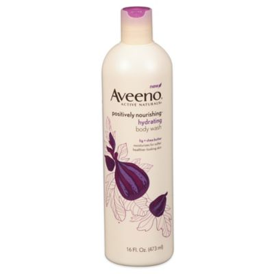 Aveeno® Positively Nourishing® 16 oz. Hydrating Body Wash in Fig & Shea Butter