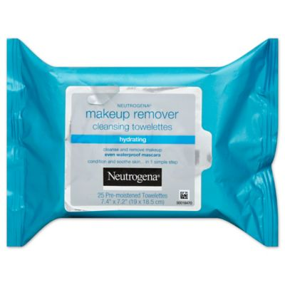 Neutrogena® 25-Count Makeup Remover Cleansing Towelettes Hydrating