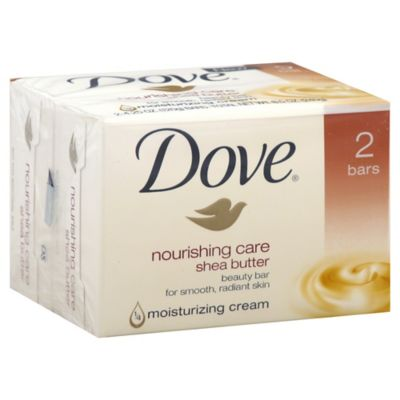 Dove® 2-Count 4 oz. Purely Pampering Shea Butter Beauty Bar