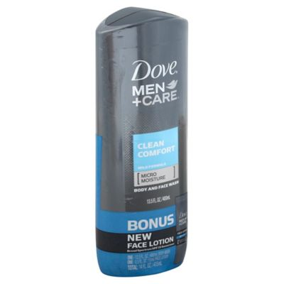 Dove® 13.5 oz. Men+Care Clean Comfort Body and Face Wash
