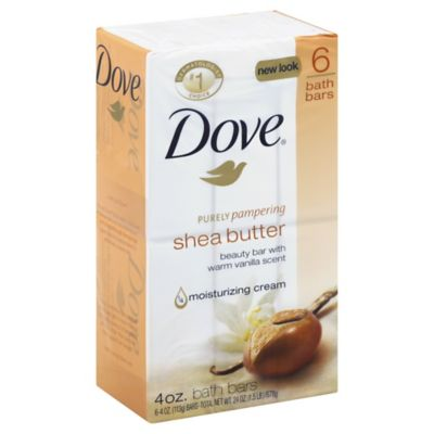 Dove® 6-Count 4 oz. Purely Pampering Shea Butter Beauty Bar