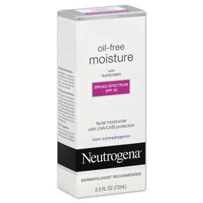 Neutrogena® Oil-Free 2.5 oz. Facial Moisturizer with SPF 35