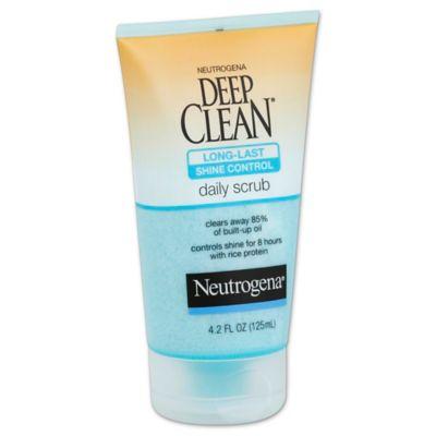 Neutrogena® Deep Clean® 4.2 oz. Long-Last Shine Control Daily Scrub