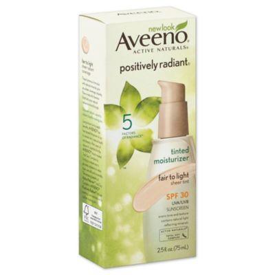 Aveeno® Positively Radiant® 2.5 oz. CC Cream Broad Spectrum SPF 30 in Fair To Light