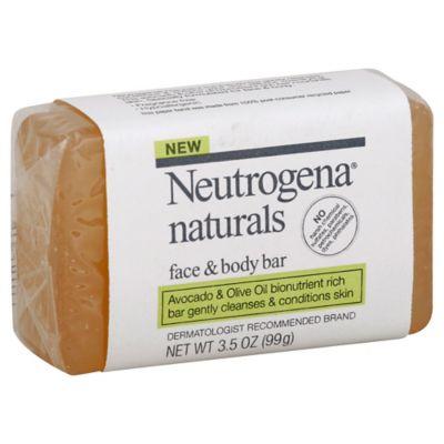 Neutrogena® 3.5 oz. Naturals Face and Body Bar