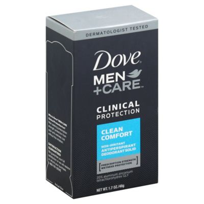 Dove® 1.7 oz. Men+Care Clinical Protection Antiperspirant and Deodorant in Clean Comfort