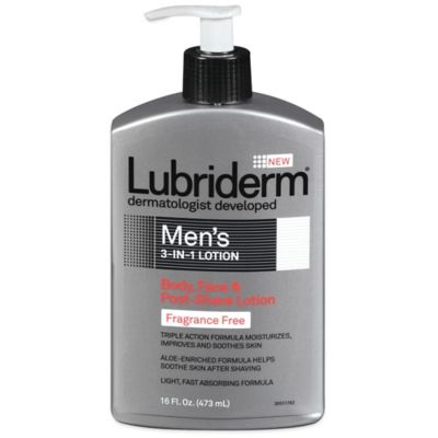 Lubriderm® 16 oz. Men's 3-in-1 Lotion Fragrance Free
