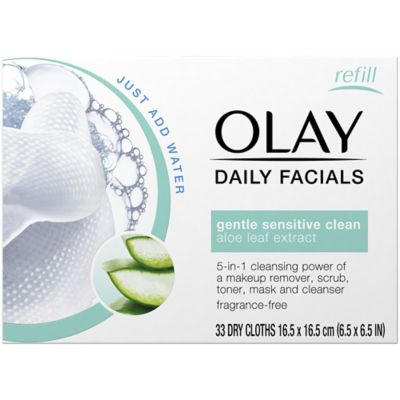Olay® 33-Count 2-In-1 Daily Facial Cleanser Cloths