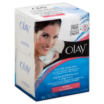 Olay® 66-Count 2-In-1 Daily Facial Cleanser Cloths