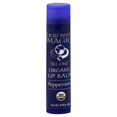 Dr. Bronner's .15 oz. Organic Lip Balm in Peppermint
