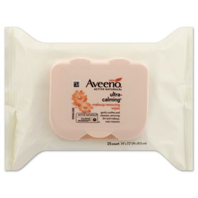 Aveeno® Ultra Calming 25-Count Makeup Removing Wipes
