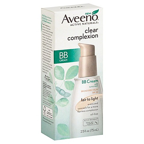 buy aveeno clear complexion 2 5 oz bb cream broad. Black Bedroom Furniture Sets. Home Design Ideas