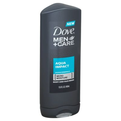 Dove® 13.5 oz. Men+Care Body and Face Wash in Aqua Impact