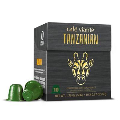 Spressoluxe® 10-Count Tanzanian Nespresso® Compatible Espresso Capsules